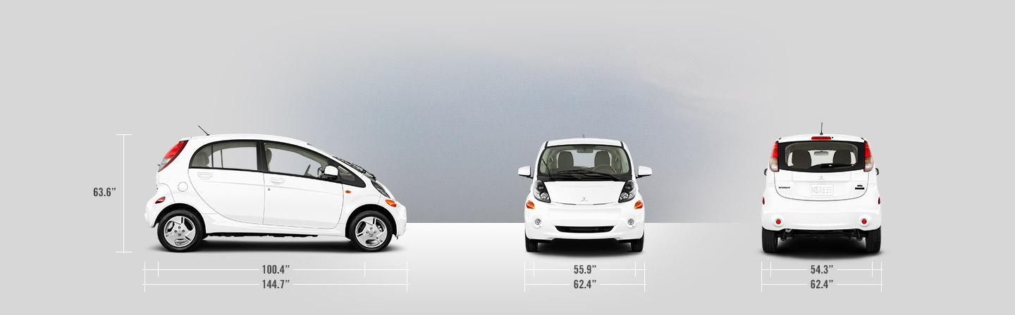 2015 Mitsubishi Mirage ES 5 speed manual vs 2014 Mitsubishi iMiEV