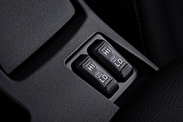 Heated front seats.