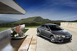 Lancer Evolution with MR Touring Package.