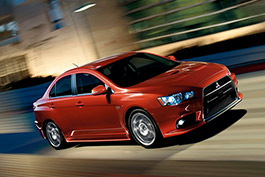 Lancer Evolution MR with Touring Package.