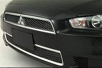 Chrome Lower Grille Garnish