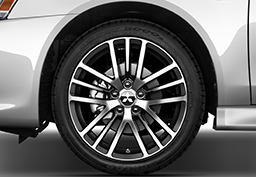 "The 2016 Lancer GT comes standard with newly-designed 18"" alloy wheels."