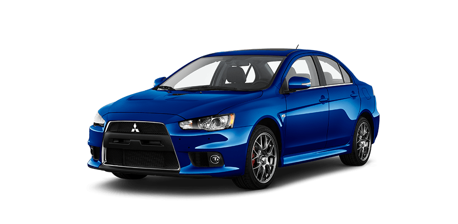 Octane-blue 2015 Mitsubishi Lancer Evolution Exterior 360 View