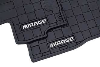 2017 Mirage G4 all weather rubber floor mats