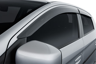 Window visors for 2017 Mitsubishi Mirage G4