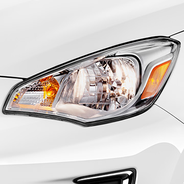 Halogen Headlights 2017 Mitsubishi Mirage G4