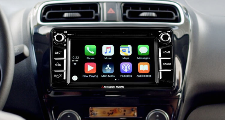 2017 Mitsubishi Mirage G4 Apple Carplay feature
