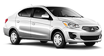 2017 Mitsubishi Mirage G4 thumbnail for best gas mileage comparison