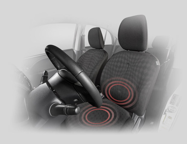 2017 Mitsubishi iMiEV heated front seats for warmth and comfortability