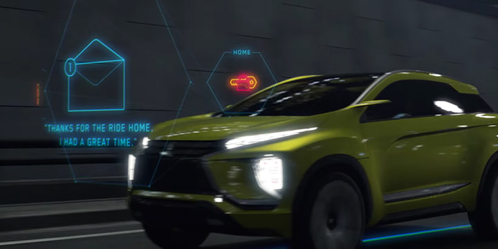 Mitsubishi Connect - Concept Movie (Car of Tomorrow ver.)