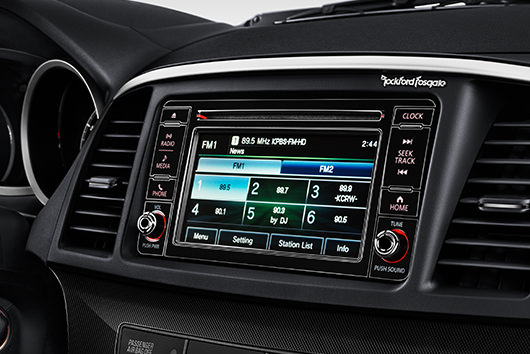 Add premium Rockford Fosgate® audio and satellite radio with the Sun & Sound Package.