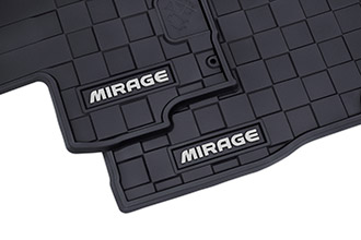 All weather mat accessories for 2017 Mitsubishi Mirage