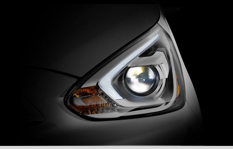 Mirage headlights enhanced visibility