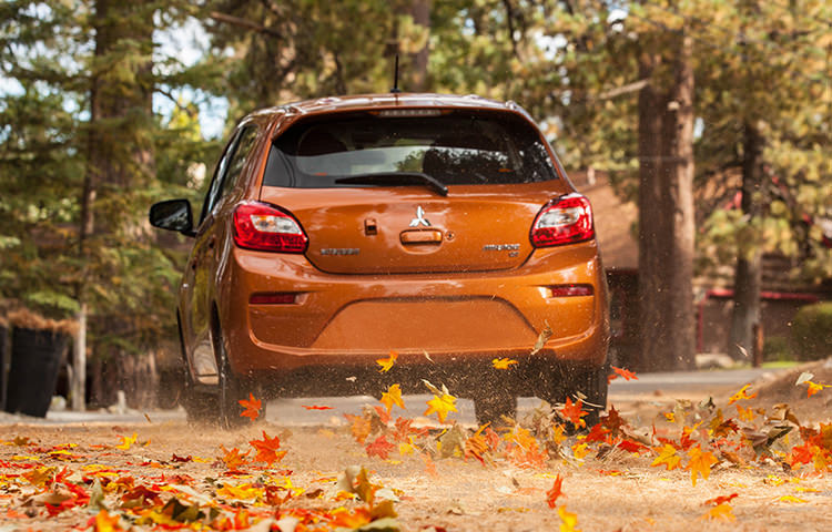 Enjoy hybrid-rivaling efficiency, sporty style and high-tech connectivity with the 2017 Mirage.