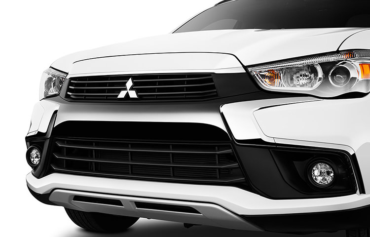 "Meet the 2016 Outlander Sport with Mitsubishi's new ""dynamic shield'""front design."