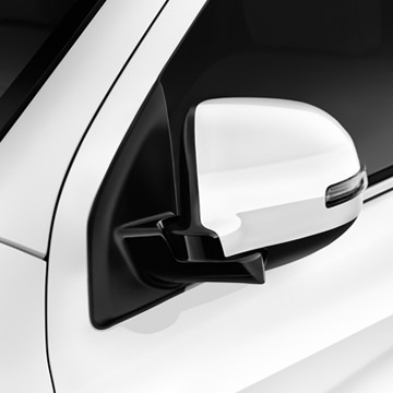 Protect your mirrors in tight parking spaces with power-folding side mirrors on SEL and GT.