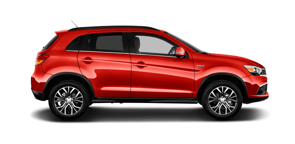 Rally-red 2016 Mitsubishi Outlander Sport Exterior 360 View