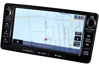MMCS Navigation System with 7-inch HD Touchscreen