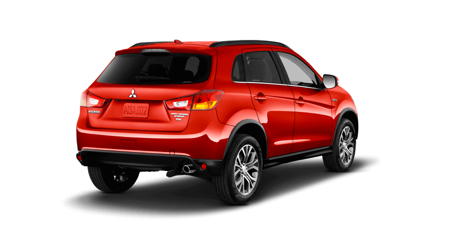 Rally-red 2017 Mitsubishi Outlander Sport Exterior 360 View