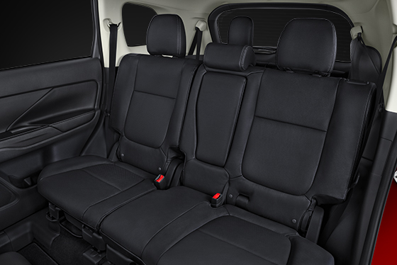 Vehicles With 3rd Row Seating >> 2016 Mitsubishi Outlander Comfort Features | Mitsubishi Motors