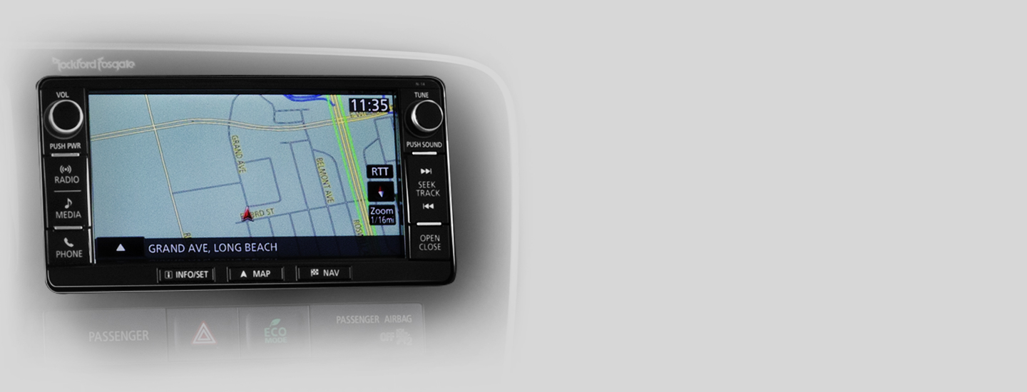 7 in Navigation display system in 2016 Mitsubishi Outlander