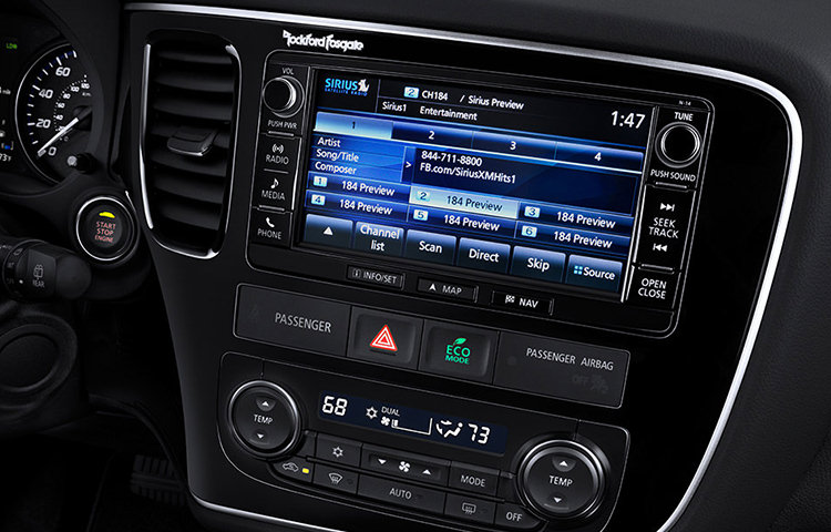 "Infotainment you can reach out and touch, with the available 7"" high-definition touch navigation screen."