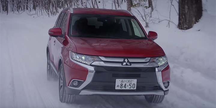 OUTLANDER Special Snow Driving Video