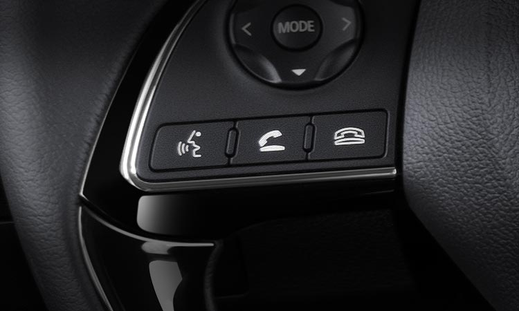 handsfree buttons on 2016 Mitsubishi Outlander steering wheel