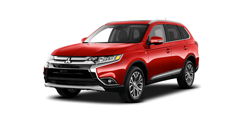 Rally-red 2016 Mitsubishi Outlander Exterior 360 View