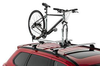 roof bike fork rack accessory 2017 Mitsubishi Outlander Crossover SUV