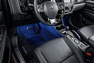 Floor illumination 2017 Mitsubishi Outlander accessories