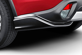 rear air dams for 2017 Mitsubishi Outlander CUV