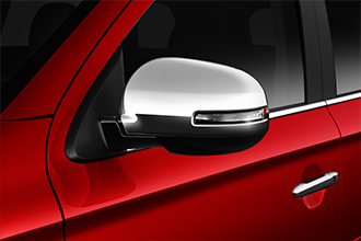 chrome side mirror covers 2017 Mitsubishi Outlander