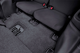3rd row floor mat 2017 Mitsubishi Outlander accessories