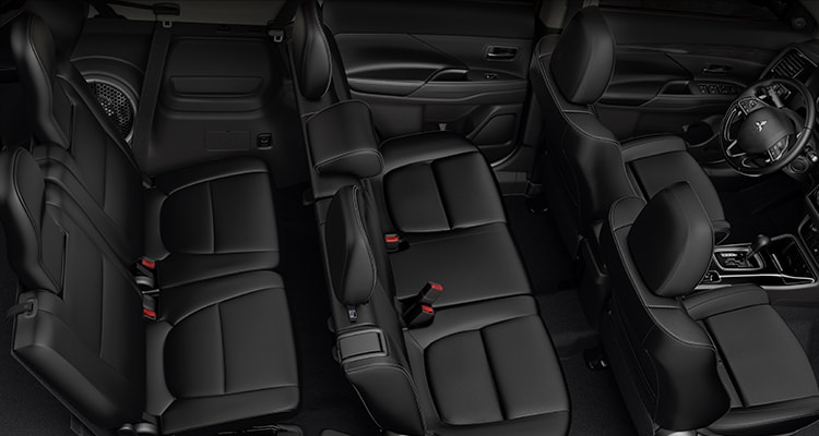 2017 Mitsubishi Outlander room for seven