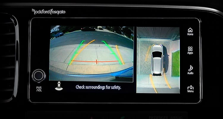 Multiview Camera 2017 Mitsubishi Outlander