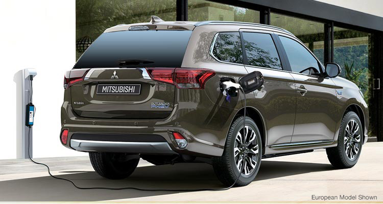 Gas Electric Capabilities 2017 Mitsubishi Outlander PHEV